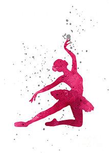 213x300 Ballerina Silhouette Art