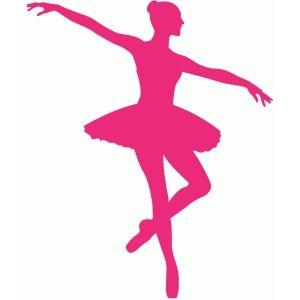 300x300 Silhouette Design Store Ballerina