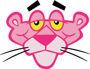 300x232 pink panther face Logo Vector (.CDR) Free Download