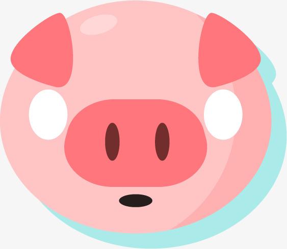 563x489 Foolish Cartoon Pig Silhouette, Meng, Cute, Cute Animals Png Image