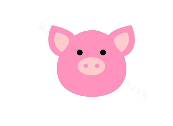 570x415 Pig Svg Amp Studio 3 Cut File For Cricut Silhouette Brother Animal
