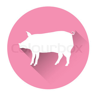 320x320 Vector Illustration Of Pig Giving Thumb Up Stock Vector Colourbox