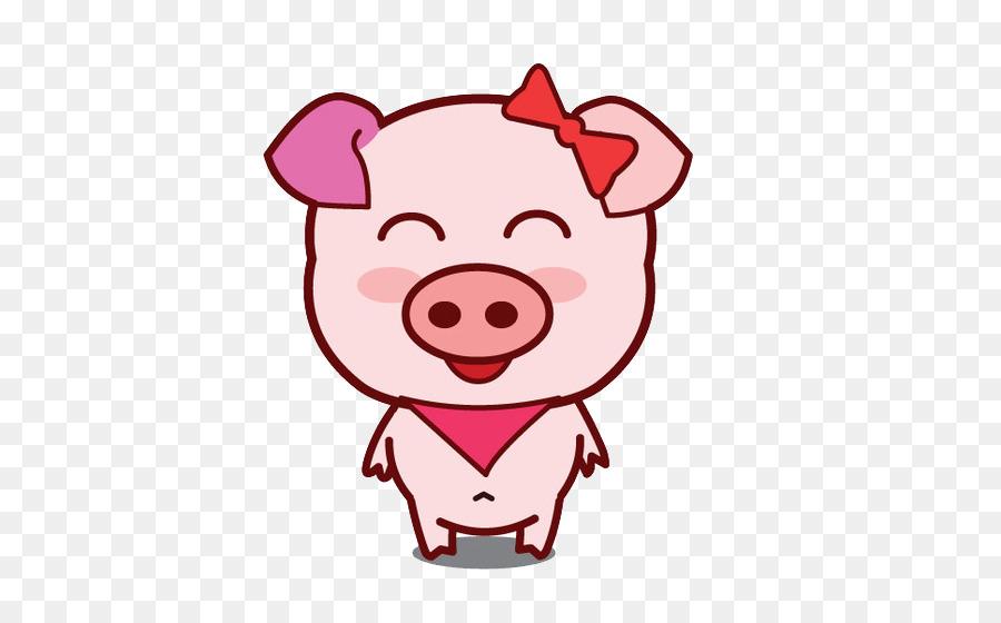 900x560 Cartoon Domestic Pig Clip Art