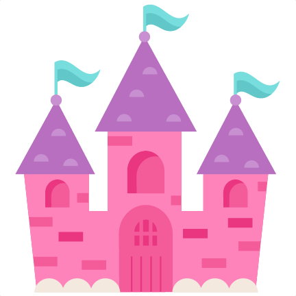 432x432 Super Design Ideas Princess Castle Clipart Pink Silhouette 1