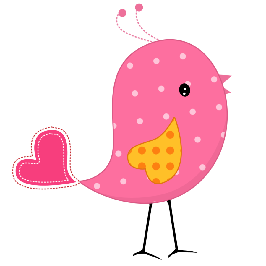 900x900 Clipart Pink Bird Silhouette Clip Art At Clker Com Vector