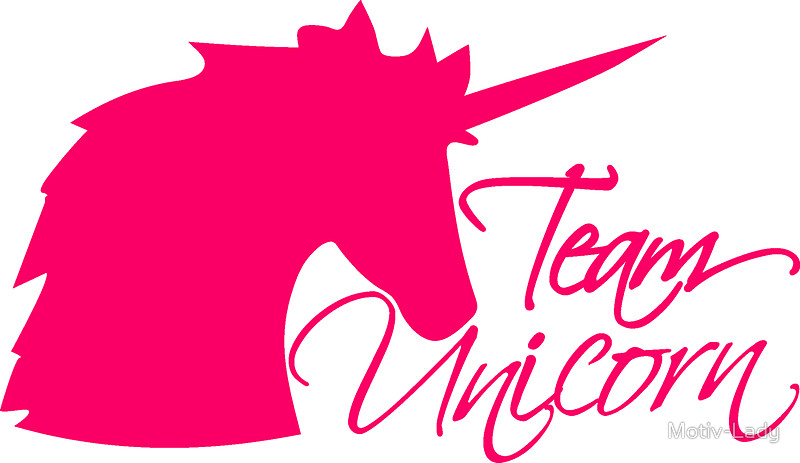 800x463 Head Team Unicorn Unicorn Pink Horse Outline Silhouette Shadow