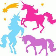 236x236 Free Unicorn Silhouettes Unicorns, Silhouette And Free