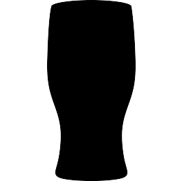263x262 Free Svg Pint Glass Silhouette Silhouette Cameo