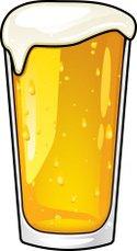 125x229 Alcohol Glasses Silhouette Set Stock Vectors