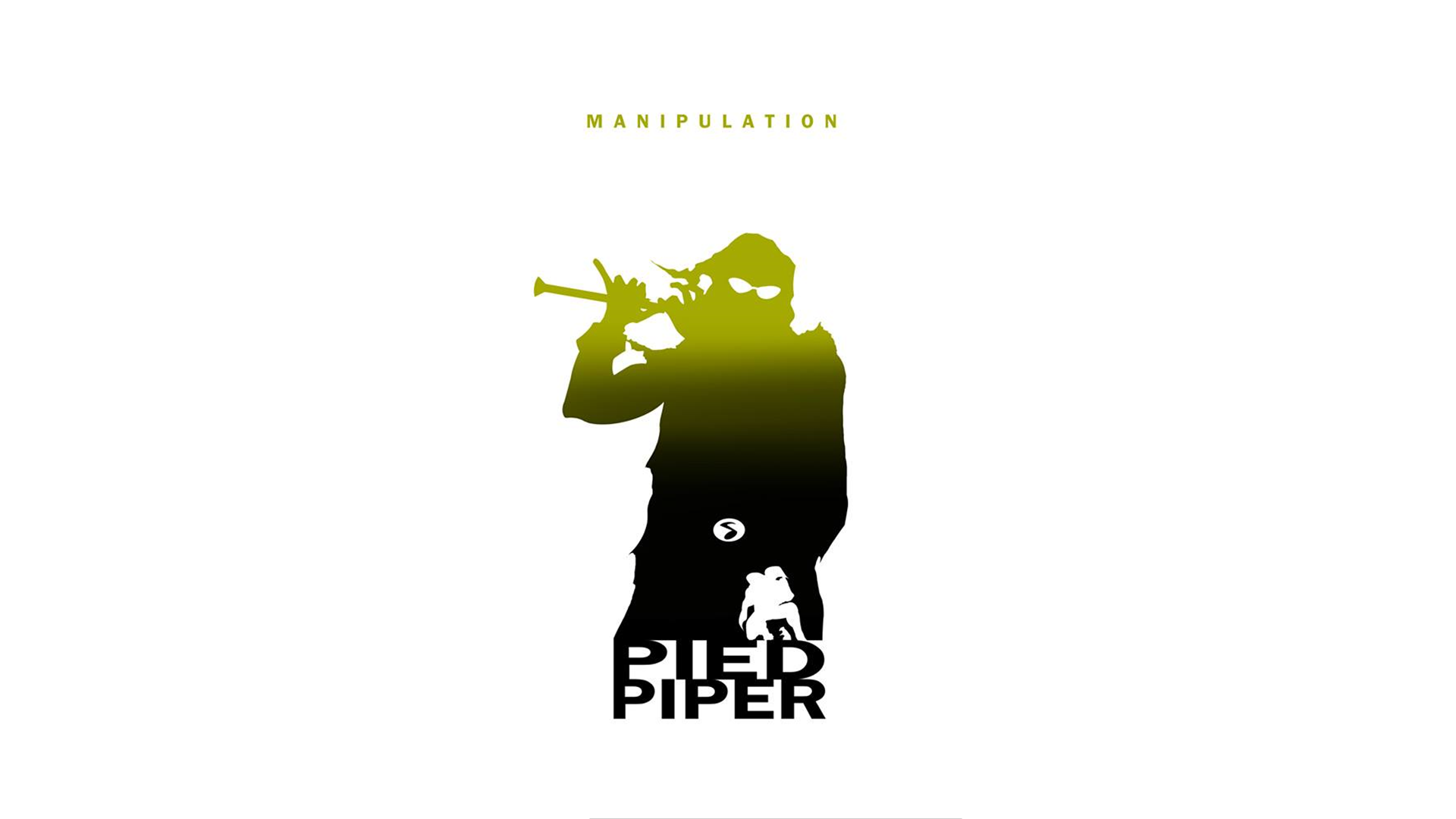 1920x1080 Pied Piper Dc Silhouettes By Steve Garcia