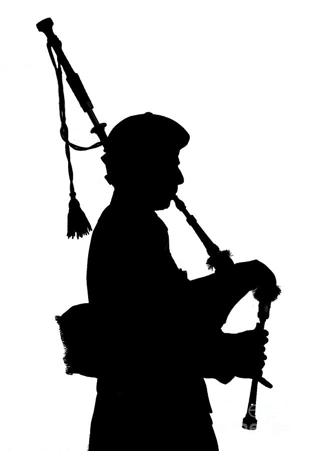 623x900 Piper In Silhouette Photograph By Lamont Finnigan