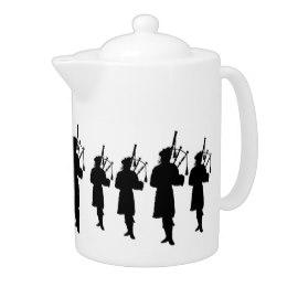 260x260 Scottish Piper Teapots Zazzle
