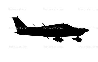 418x265 C Gjqj, Piper Pa 28 181 Silhouette, Logo, Shape Aviation