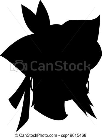 346x470 Pirate Head Silhouette Stock Photos And Images. 916 Pirate Head