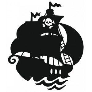 300x300 Autocollant Bateau De Pirate Pirate Ships