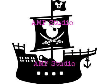 340x270 Disney Pirate Ship Etsy