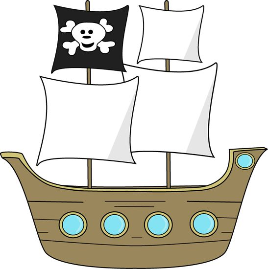 547x550 Pirates Of The Caribbean Clipart Pirate Ship