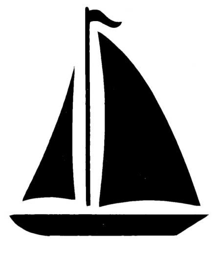 450x519 Ship Silhouette Clipart Collection