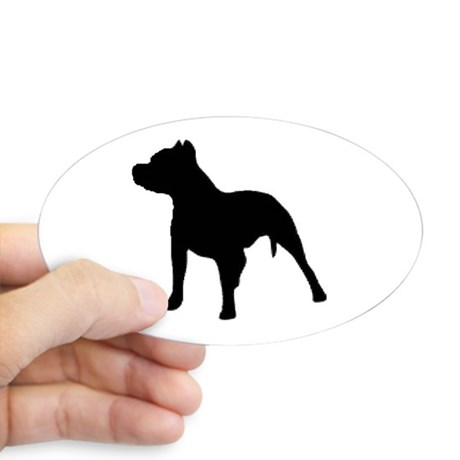 460x460 Pit Bull Silhouette Gifts