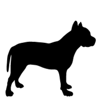 200x200 Customize Pet Lover Products With Dog Breed Silhouettes