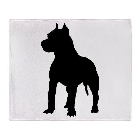 480x480 American Pitbull Silhouette Terrier Gifts Clipart Home