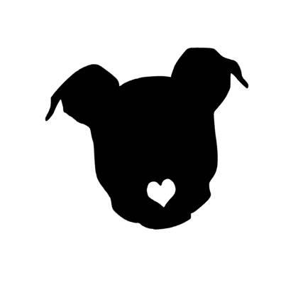 420x412 Pitbull Decal Dog Decal Pitbull Car Decal Pet Decal