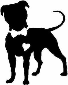 pitbull silhouette clip art at getdrawings com free for personal rh getdrawings com pitbull clip art free tribal pit bull clip art free