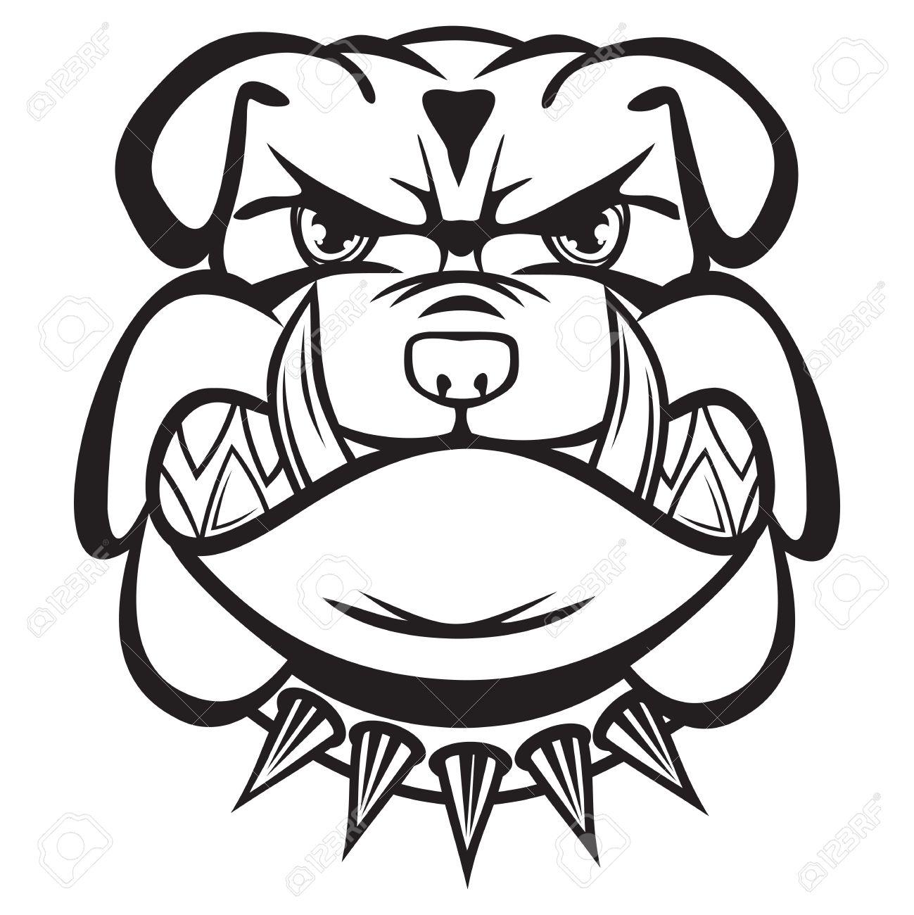 1299x1300 Bulldog Clipart Pitbull