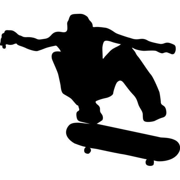 600x600 Wallhogs Skateboard Silhouette I Cutout Wall Decal Amp Reviews Wayfair