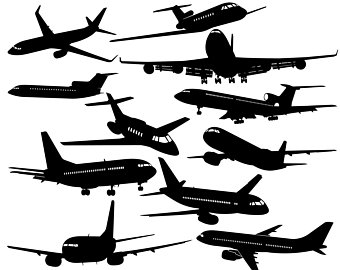 340x270 Plane Svg Airplane Svg Biplane Svg Plane Silhouette