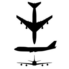 236x236 Free Stencils For Airplanes Fileairplane Silhouette 45degree