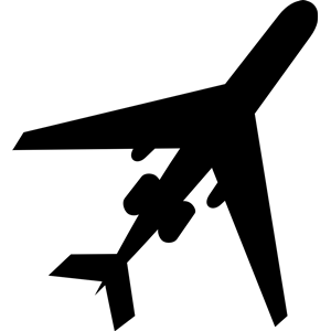 300x300 Airplane Silhouette Clipart, Cliparts Of Airplane Silhouette Free