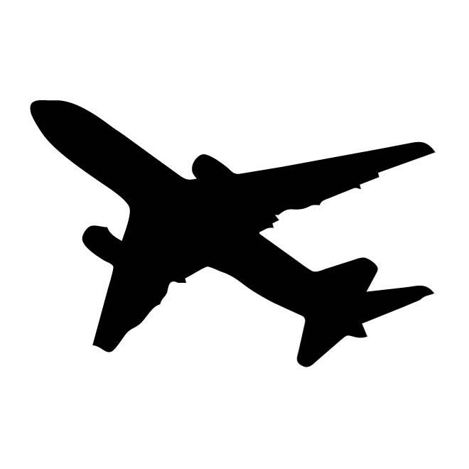 660x660 Aircraft Silhouettes Vector Free Vectors Ui Download