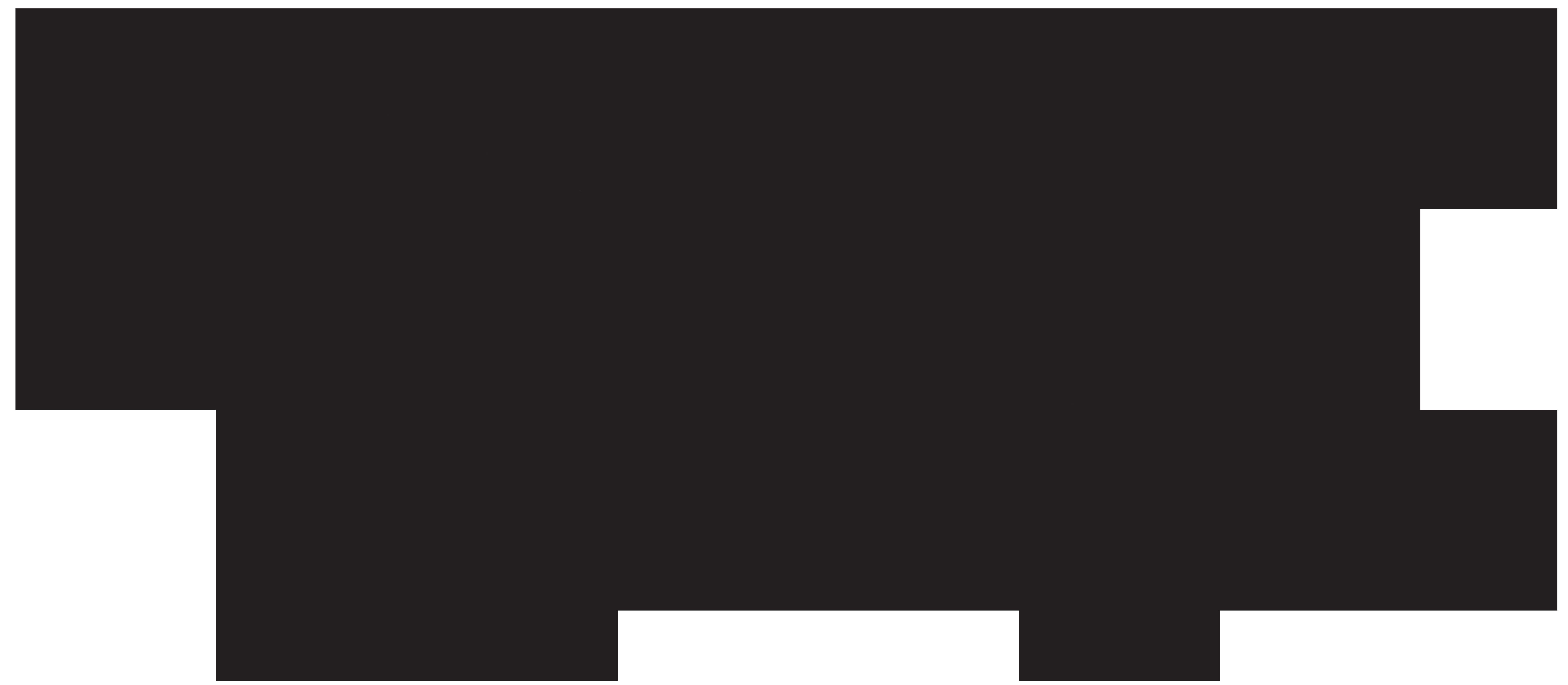 8000x3495 Plane Clipart Silhouette