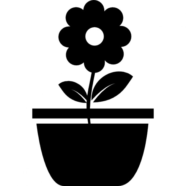 626x626 Flower Pot Icons Free Download