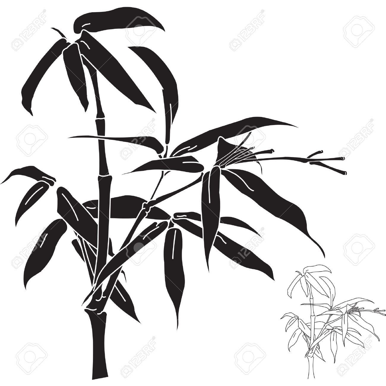 1300x1300 Bamboo Clipart Bamboo Plant