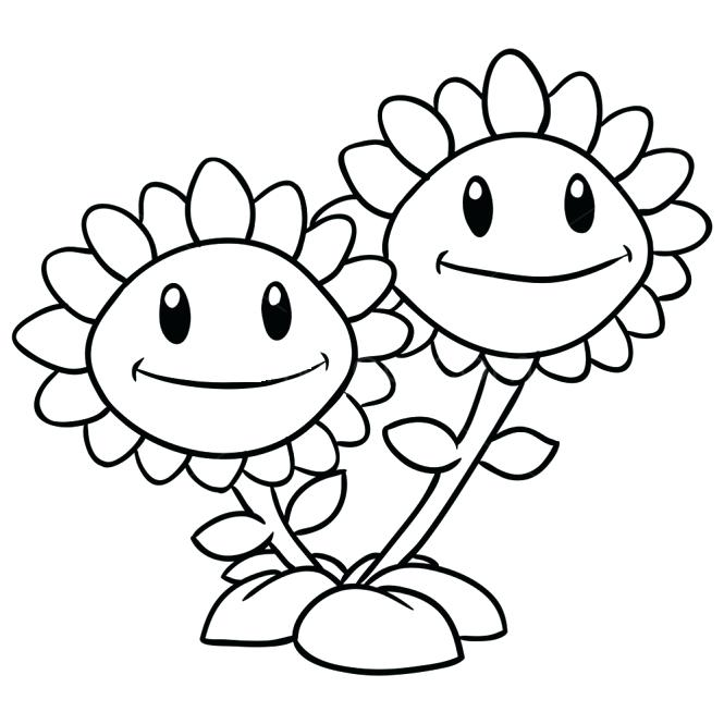Plants Vs Zombies Silhouette at GetDrawings.com | Free for personal ...
