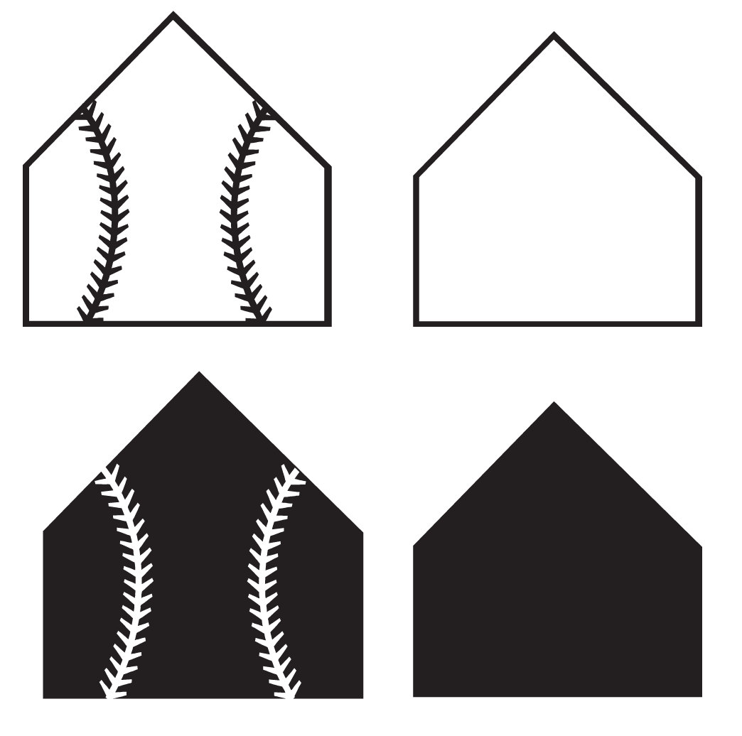 1044x1036 Home Plate File For Cutting Machines Svg And Silhouette Studio