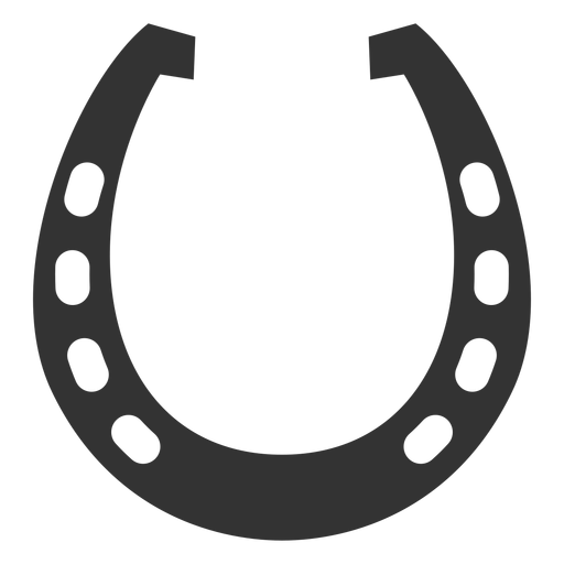512x512 Horseshoe Racing Plate Silhouette
