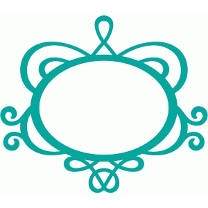 300x300 Silhouette Design Store Flourish Name Plate Stencil