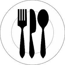 225x225 Plate Of Food Silhouette