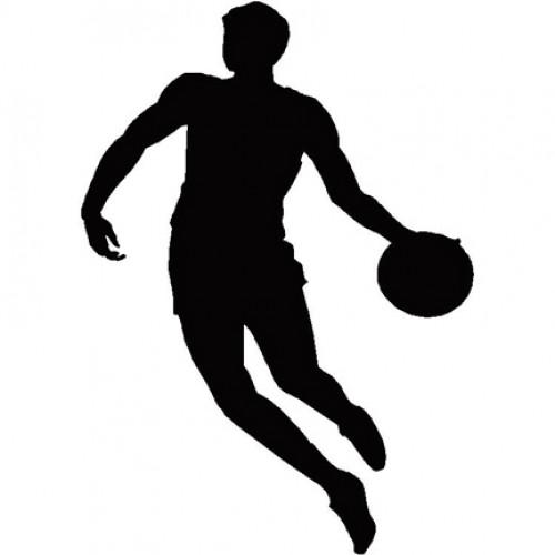 500x500 Basketball Player Silhouette