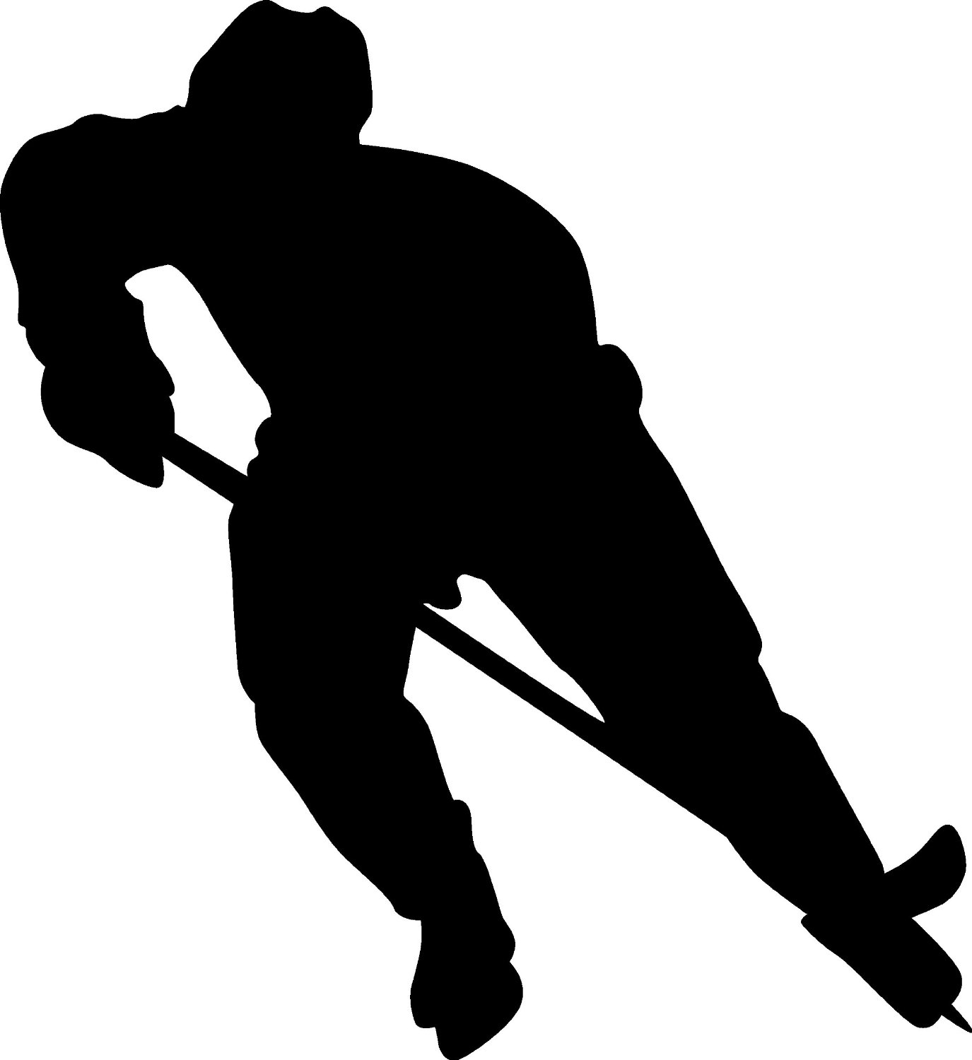 1375x1500 9 Hockey Player Silhouette Vector Images