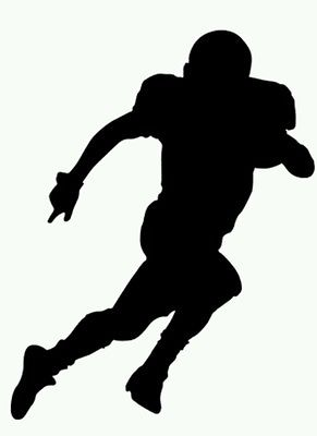 291x400 Football Team Clipart Silhouette Collection