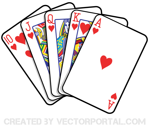 600x510 Playing Cards Vector Art Playing Cards And Clip Art Free