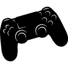 Playstation Controller Silhouette