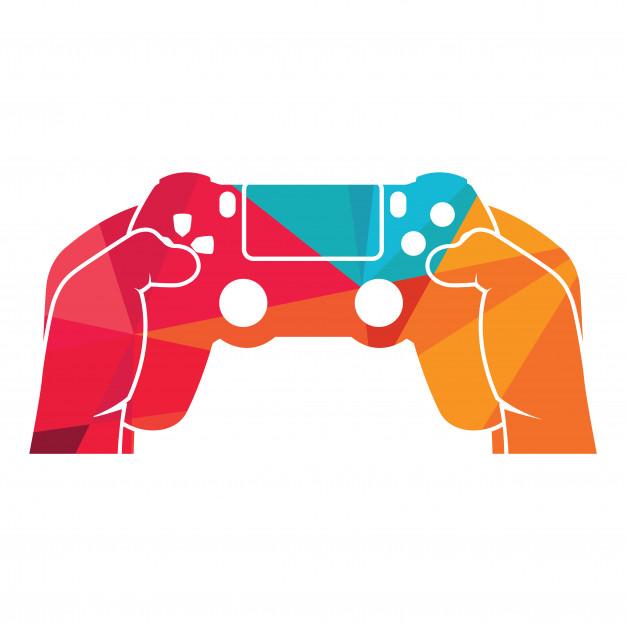 626x626 Gaming Logo Playstation 4 Controller Vector Premium Download