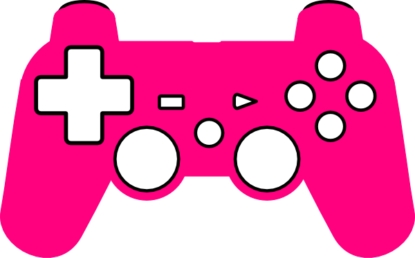 600x374 Play Station Controller Silhouette Clip Art