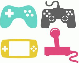 300x242 Game Controller Svg, Gamer Svg File Vector For Silhouette Cricut