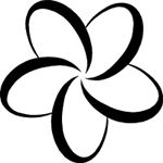 150x150 Image Result For Frangipani Line Drawing Diy Projects